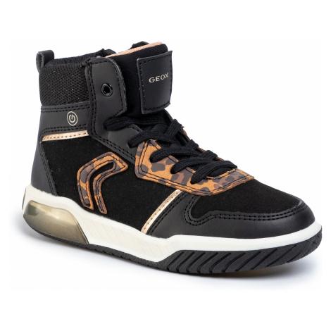 Sneakersy GEOX - J Inek G.A J94ASA 0AU54 C9999 S Black