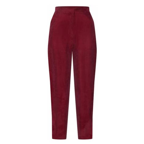 Y.A.S Spodnie karminowo-czerwony