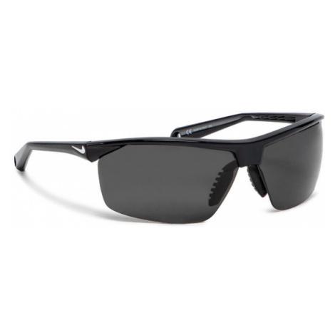 Czarne męskie sportowe okulary przeciwsłoneczne