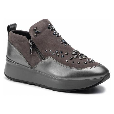 Sneakersy GEOX - D Gendry C D945TC 022NF C9F1G Dk Grey/Gun