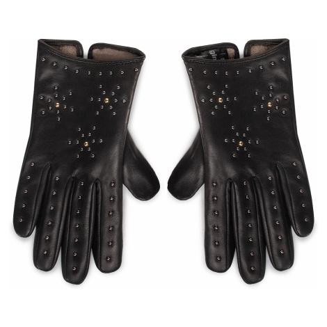 Rękawiczki Damskie GINO ROSSI - AR0196-000-OG00-9900-T Czarny