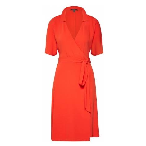 Esprit Collection Letnia sukienka pomarańczowo-czerwony