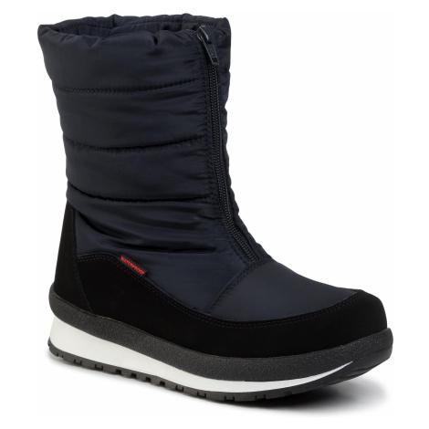 Śniegowce CMP - Kids Rae Snow Boots Wp 39Q4964J Black Blue N950