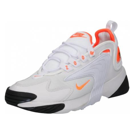 Nike Sportswear Trampki niskie 'Nike Zoom 2K' szary / pomarańczowy