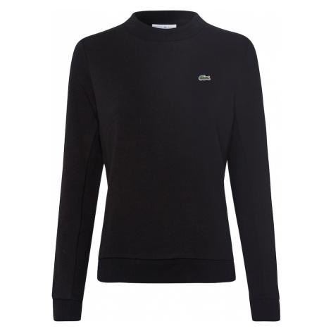 LACOSTE Bluzka sportowa czarny / biały / jasnoszary / ognisto-czerwony