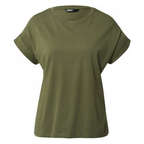 ONLY Koszulka oliwkowy
