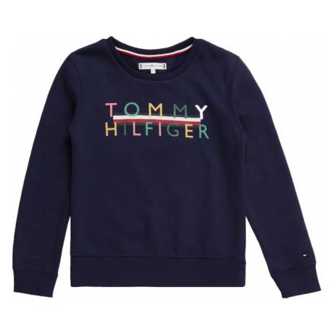 TOMMY HILFIGER Bluzka sportowa niebieska noc