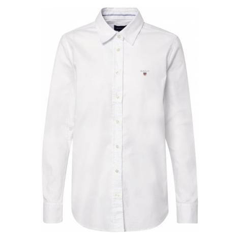 GANT Bluzka 'STRETCH OXFORD SOLID' biały