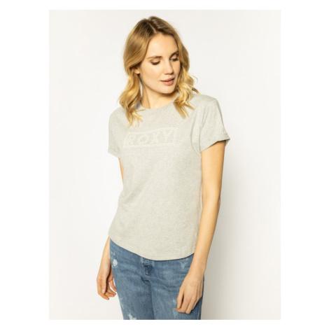 Roxy T-Shirt Epic Afternoon ERJZT04808 Szary Regular Fit