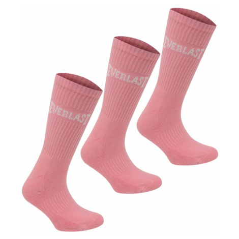 Everlast 3 Pack Crew Socks Junior