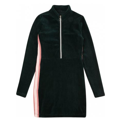 LEMON BERET Sukienka jodła / różowy / biały