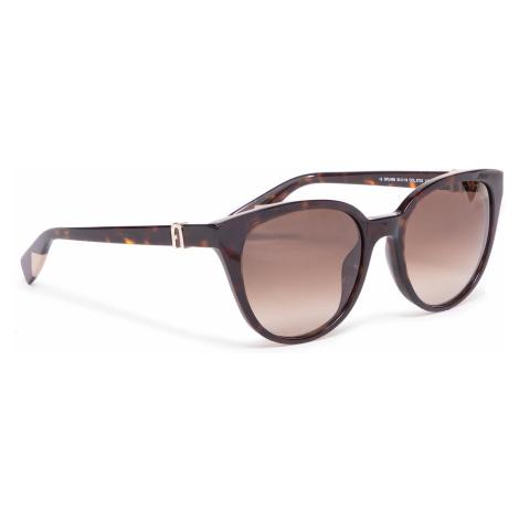 Okulary przeciwsłoneczne FURLA - Sunglasses SFU469 WD00010-A.0116-AN000-4-401-20-CN-D Havana