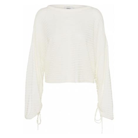 ONLY Sweter 'onlDREW' biały