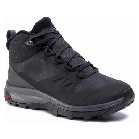 Trekkingi SALOMON - Outsnap Cswp W 411101 20 V0 Black/Ebony/Black