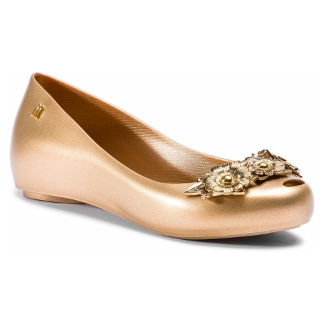 Baleriny MELISSA - Ultragirl Flower Chrom 32655 Gold 50676