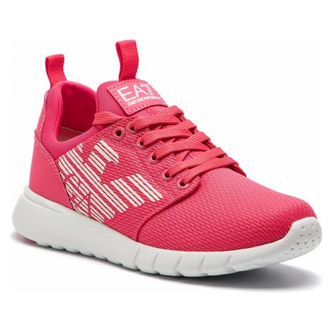 Sneakersy EA7 EMPORIO ARMANI - X8X007 XCC02 00029 Rouge Red