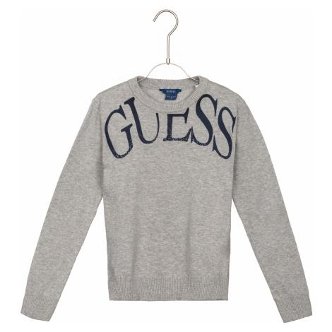 Guess Sweter dziecięcy Szary