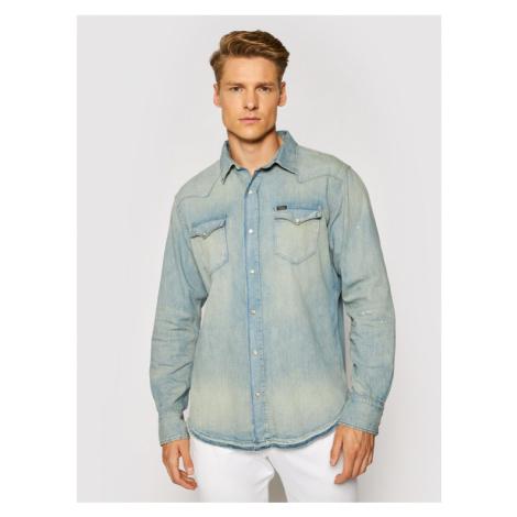 Polo Ralph Lauren Koszula jeansowa Western 710689372001 Niebieski Regular Fit