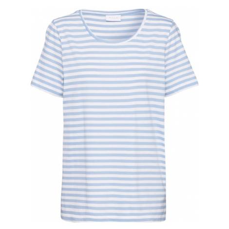 VILA Koszulka 'SUS' jasnoniebieski / biały